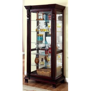 Ansel Curio Cabinet by Astoria Grand