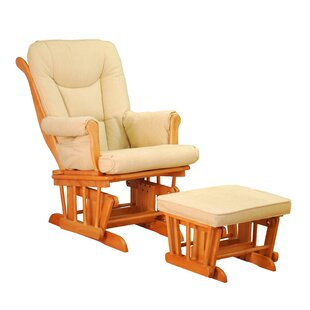 AFG Baby Furniture Sleigh Glider and Ottoman