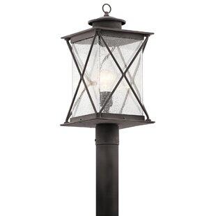Kersey 1-Light Outdoor Post Light by Loon Peak