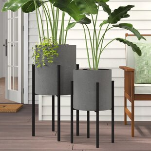 Modern 2 Planters Allmodern