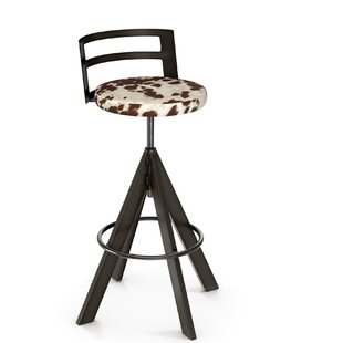 Chianna Adjustable Height Swivel Bar Stool by 17 Stories