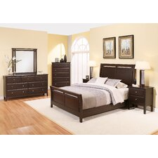 Kaitlin Sleigh 6 Piece Bedroom Set by Latitude Run