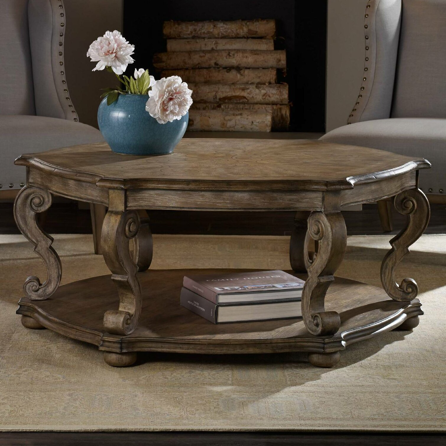 Solana Coffee Table - Hooker Furniture Solana Coffee Table & Reviews Wayfair