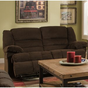 Simmons Upholstery Mendes Double Motion Reclining Loveseat by Darby Home Co