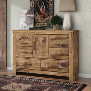 Petersfield 6 Drawer Combo dresser by Three Posts