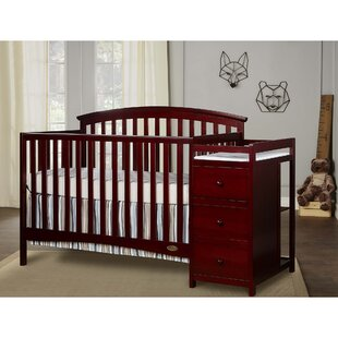 Best Price Niko 3-in-1 Convertible Crib and Changer Combo By Dream On Me