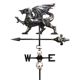 Forest Park Dragon Weathervane By Sol 72 Outdoor