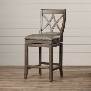 Verveine 26 Swivel Bar Stool by One Allium Way
