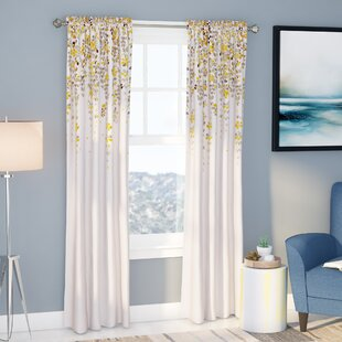 Bedroom Curtains Yellow | Wayfair