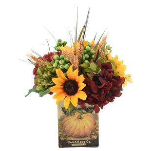 Flower Centerpiece in Pot