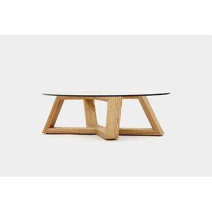 Focal Ellipse Coffee Table with Tray Top