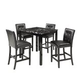Alaa 5 - Piece Counter Height Dining Set by Red Barrel Studio®