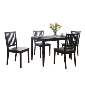 Delightful Barryknoll 5 Piece Dining Set