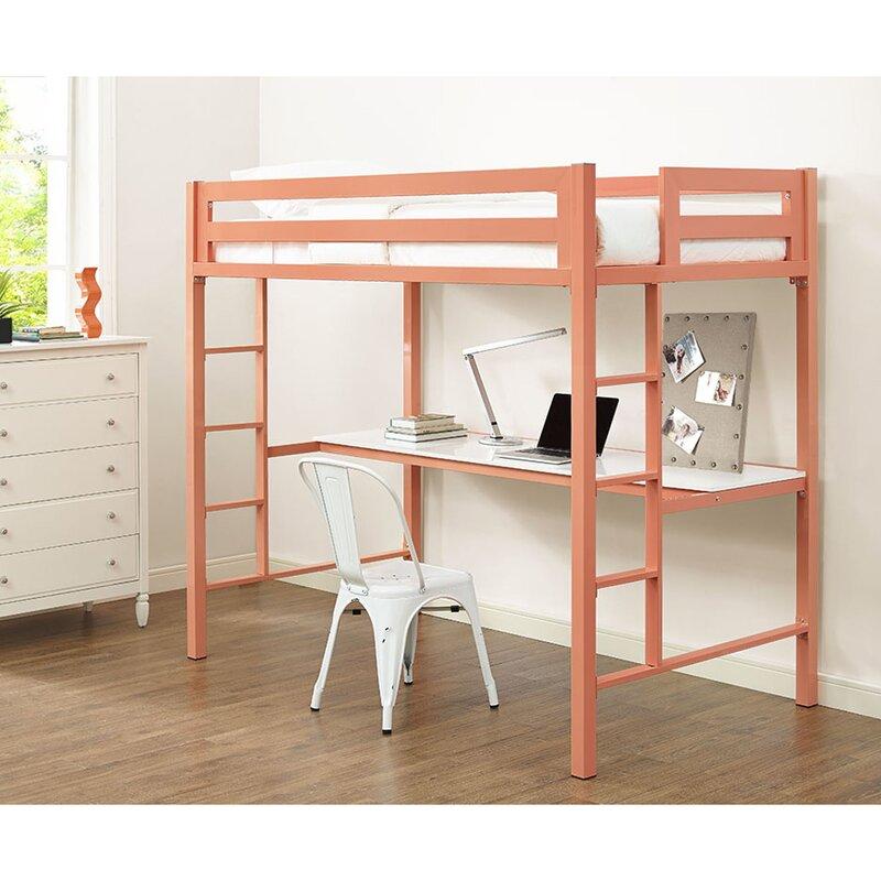 Viv + Rae Nikolai Twin Loft Bed Configurable Bedroom Set & Reviews ...