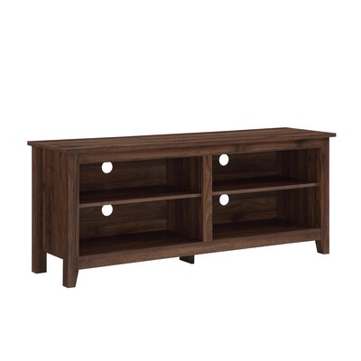 Beachcrest Home Sunbury TV Stand for TVs up to 60 Color: Dark Walnut