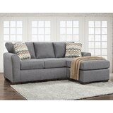 Mueller 82 Right Hand Facing Sofa & Chaise by Latitude Run®