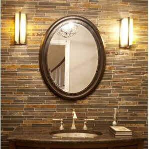 Wayfair Wall Mirrors bronze oval wall mirrors you'll love | wayfair