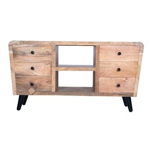 Conanso Media Cabinet TV Stand for TVs up to 55