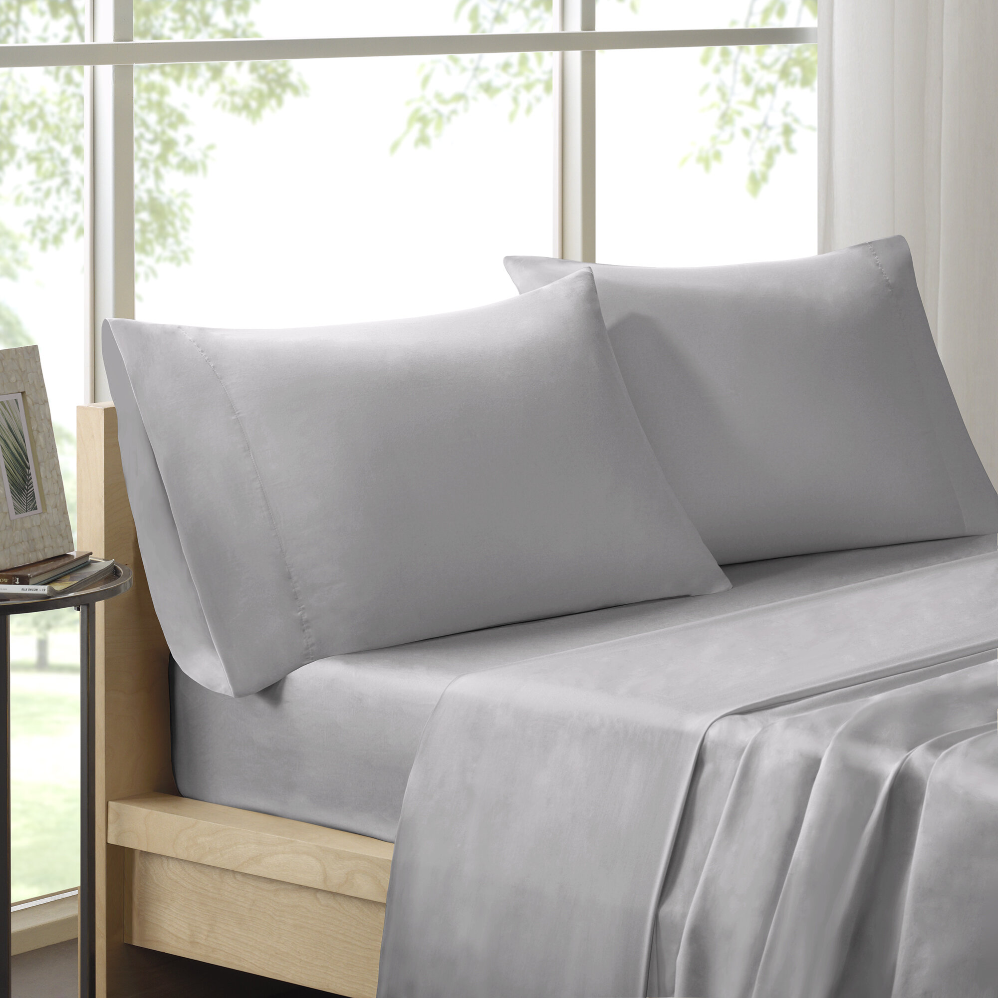Moffett 300 Thread Count Pima Cotton Sheet Set Reviews Wayfair