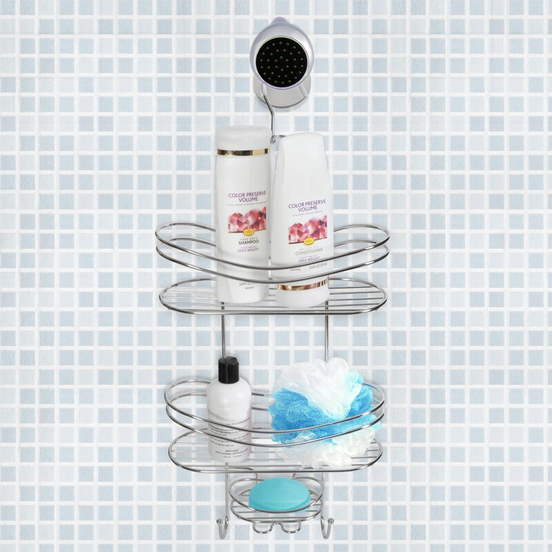 Toilet Tree Products Wall Mounted Shower Caddy & Reviews | Wayfair