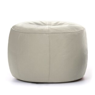 Sweatman Leather Pouffe By Ebern Designs