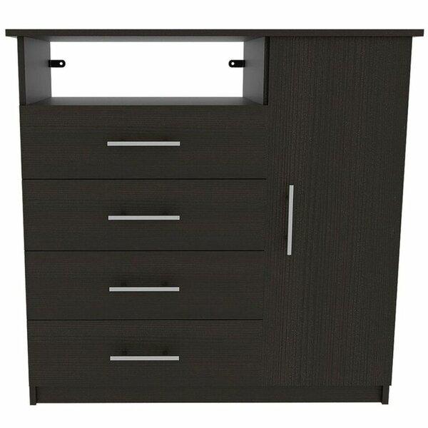 Ebern Designs Abdi 4 Drawer Combo Dresser Wayfair