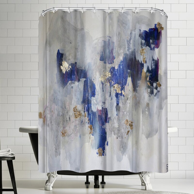Christine Olmstead North Gold Shower Curtain