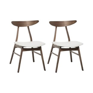 Steve Solid Wood Dining Chair (Set Of 2) By George Oliver
