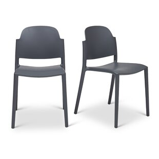 Torrie Stacking Patio Dining Chair (Set of 2)