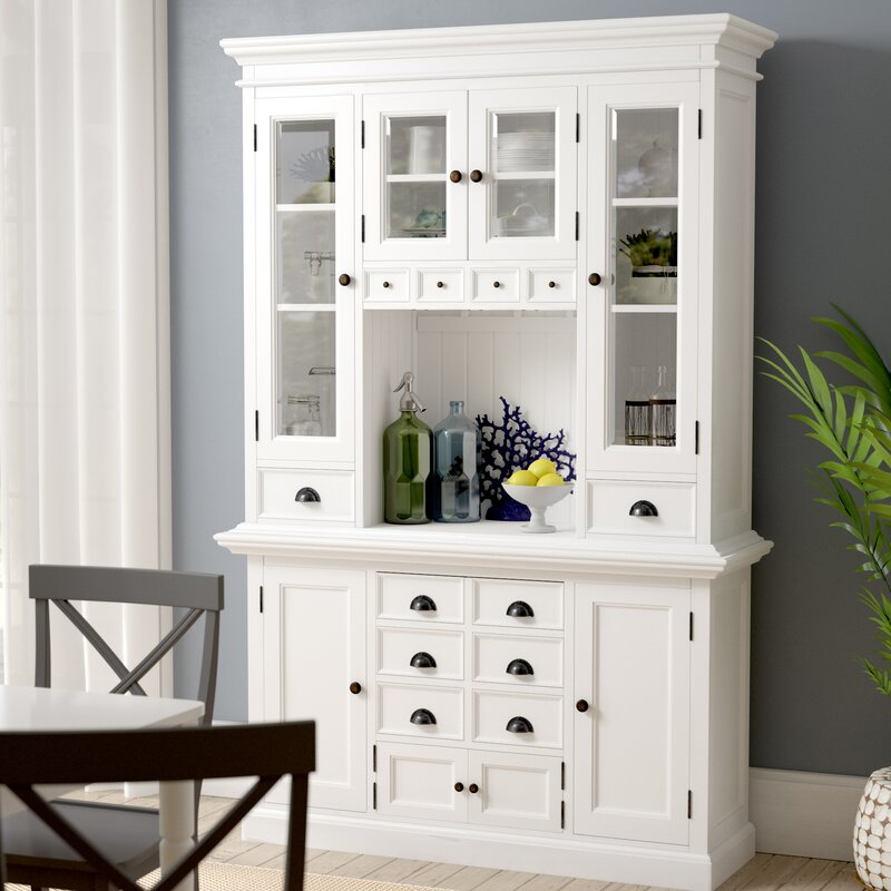 Beachcrest Home Amityville Kitchen China Cabinet & Reviews ...