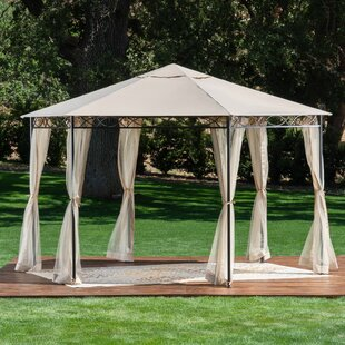 Bolebroke 12 Ft. W x 12 Ft. D Steel Patio Gazebo by Freeport Park