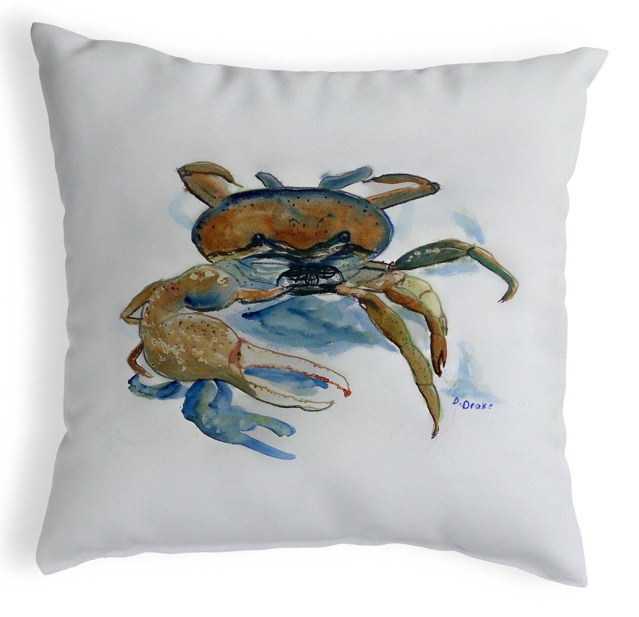 Highland Dunes Piland Fiddler Crab Indoor Outdoor Lumbar Pillow Wayfair