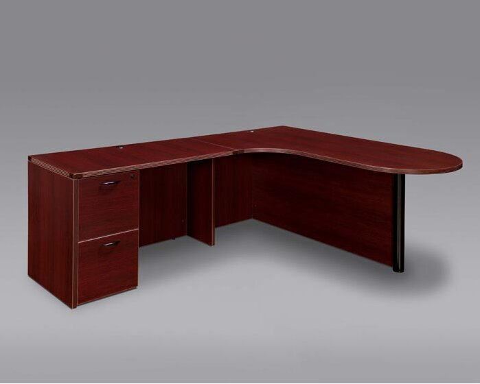 Fairplex L-Shape Executive Desk