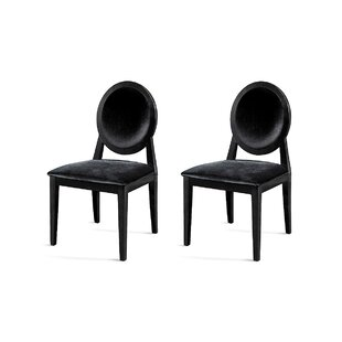 Janine Upholstered Dining Chair (Set of 2) Willa Arlo Interiors