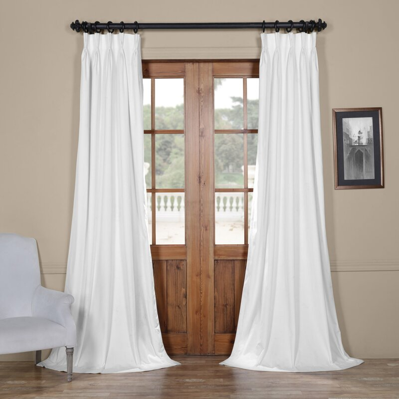 Darby Home Co Balone Solid Max Blackout Thermal Pinch