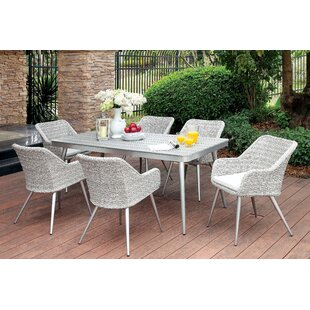 Langley Street Julius 7 Piece Dining Set