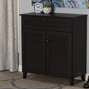 Find the perfect 12-Pair Shoe Storage Cabinet By Longshore Tides