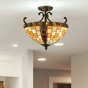 Baroque 2-Light Semi Flush Mount by Springdale Lighting