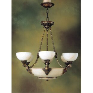Zanin Lighting Inc. Monticello 9-Light Shaded Chandelier