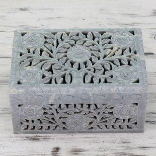 Top Reviews Jali Soapstone Jewelry Box By Novica