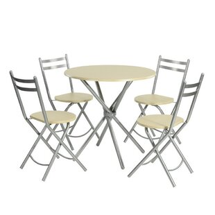 Mohall 5  Piece Dining Set