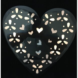 Creative Motion Battery Operated 10-Light LED Heart Night Light