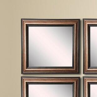 Shop for Kimzey Bronze Wall Mirror (Set of 4) ByCharlton Home