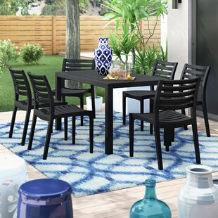 Melissus 7 Piece Dining Set