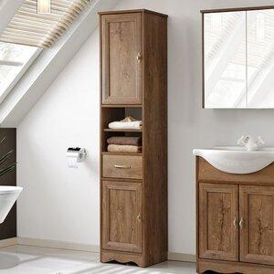 40 x 185 cm Badschrank Samba von Belfry Bathroom