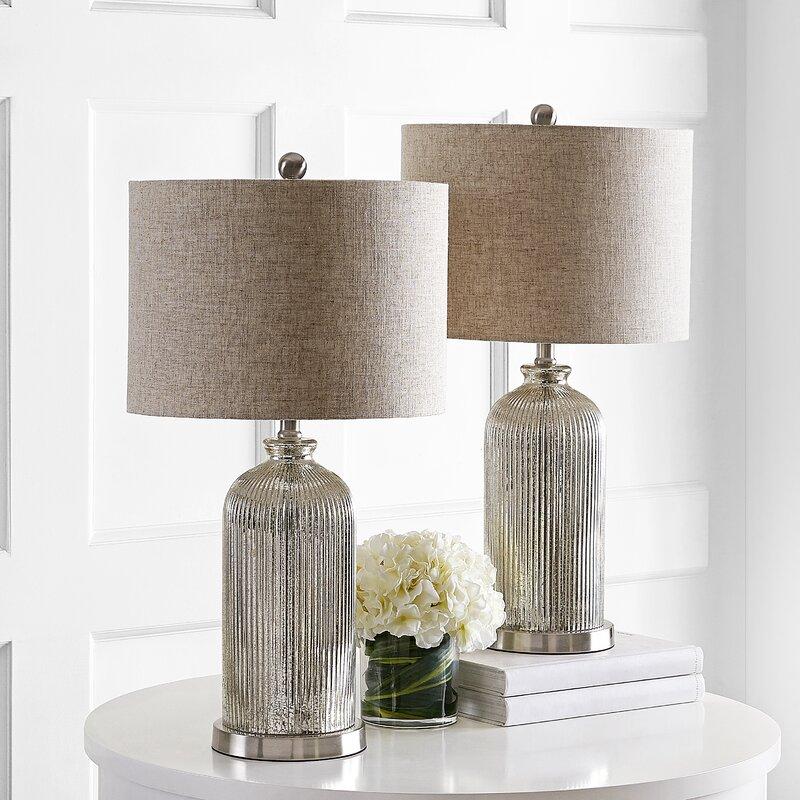 House Of Hampton Carla 26 Table Lamp Set Reviews Wayfair