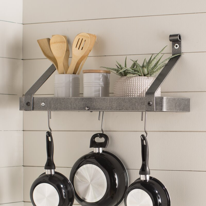 Enclume USA Handcrafted Gourmet Wall Mounted Pot Rack Reviews