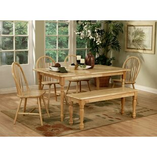 Hornick 6 Piece Dining Set by August Grove