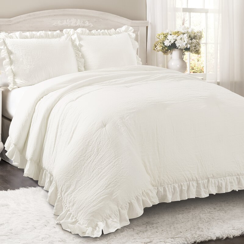 Joss & Main Essentials 3 Piece Comforter Set