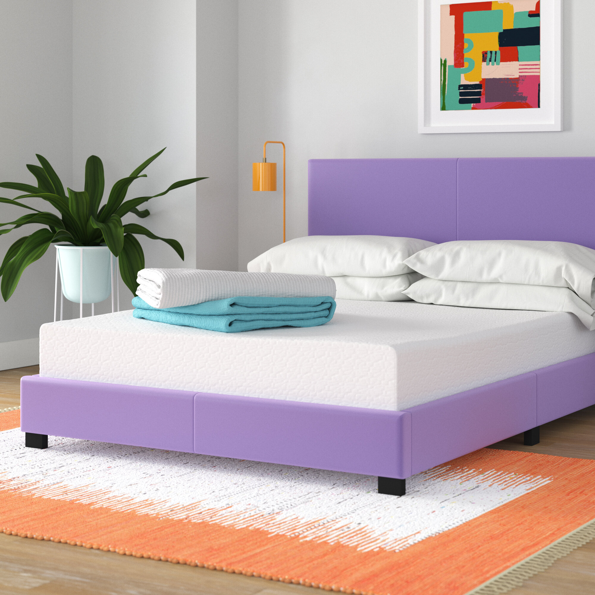 "Wayfair Sleep 4"" Medium Memory Foam Mattress"